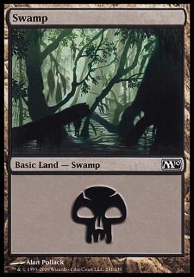 2010 Core Set: Swamp (241 D)