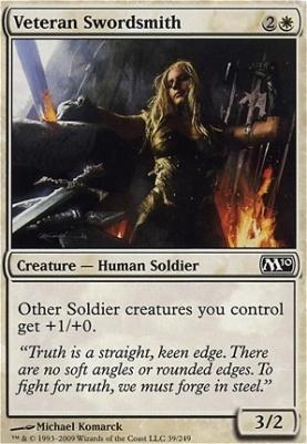 2010 Core Set: Veteran Swordsmith