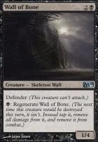 2010 Core Set Foil: Wall of Bone