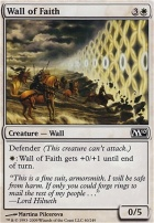 2010 Core Set Foil: Wall of Faith