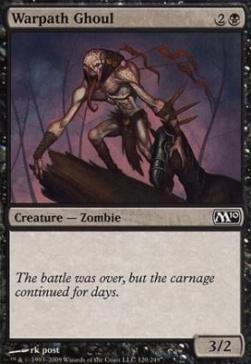 2010 Core Set Foil: Warpath Ghoul