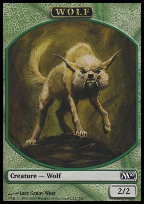 2010 Core Set: Wolf Token