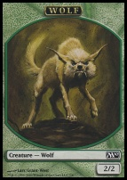 2010 Core Set: Wolf Token