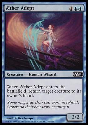 2011 Core Set Foil: Aether Adept