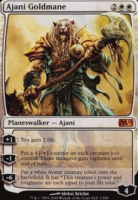 2011 Core Set: Ajani Goldmane