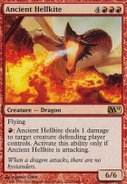 2011 Core Set Foil: Ancient Hellkite