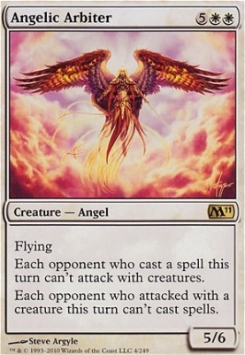 2011 Core Set Foil: Angelic Arbiter