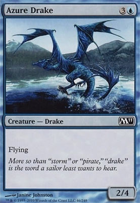 2011 Core Set: Azure Drake