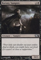 2011 Core Set Foil: Barony Vampire