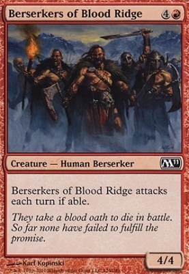 2011 Core Set: Berserkers of Blood Ridge
