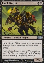 2011 Core Set Foil: Black Knight
