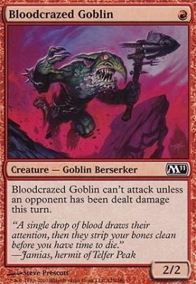 2011 Core Set: Bloodcrazed Goblin
