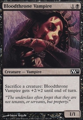 2011 Core Set: Bloodthrone Vampire