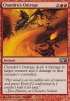 2011 Core Set Foil: Chandra's Outrage