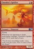 2011 Core Set Foil: Chandra's Spitfire