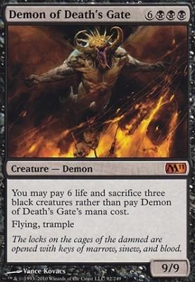 2011 Core Set: Demon of Death's Gate