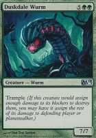 2011 Core Set: Duskdale Wurm