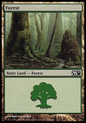 2011 Core Set: Forest (246 A)