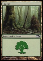 2011 Core Set: Forest (246 A)
