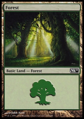 2011 Core Set: Forest (247 B)
