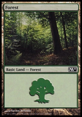 2011 Core Set: Forest (248 C)