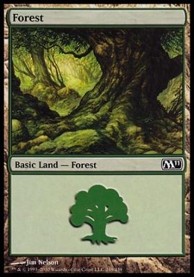 2011 Core Set: Forest (249 D)