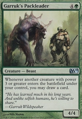 2011 Core Set: Garruk's Packleader