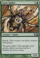 2011 Core Set Foil: Giant Spider