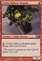 2011 Core Set Foil: Goblin Balloon Brigade