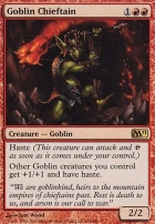 2011 Core Set: Goblin Chieftain
