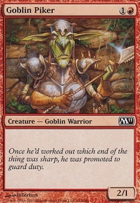 2011 Core Set: Goblin Piker
