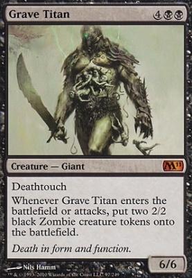 2011 Core Set: Grave Titan