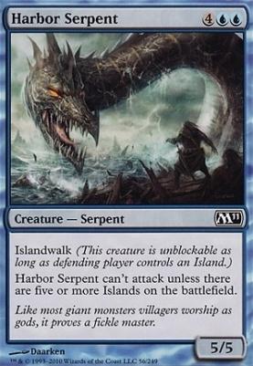 2011 Core Set: Harbor Serpent