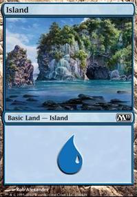 2011 Core Set: Island (234 A)