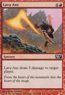2011 Core Set: Lava Axe