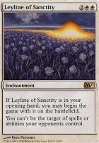 2011 Core Set: Leyline of Sanctity