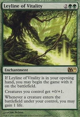 2011 Core Set: Leyline of Vitality
