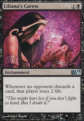 2011 Core Set Foil: Liliana's Caress