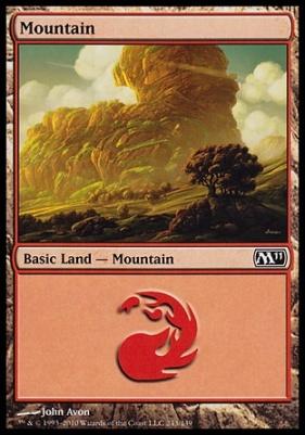 2011 Core Set: Mountain (243 B)