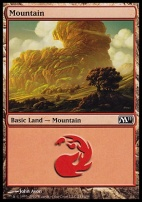 2011 Core Set: Mountain (243 B)