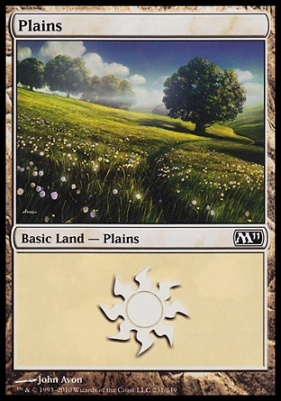 2011 Core Set: Plains (231 B)