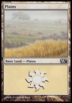 2011 Core Set: Plains (232 C)
