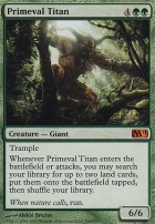 2011 Core Set: Primeval Titan