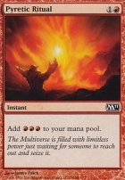 2011 Core Set Foil: Pyretic Ritual