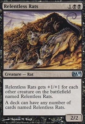 2011 Core Set: Relentless Rats