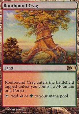 2011 Core Set: Rootbound Crag