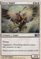 2011 Core Set Foil: Serra Angel