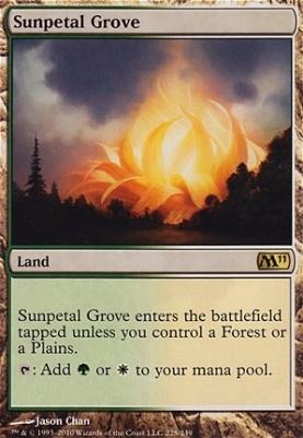 2011 Core Set: Sunpetal Grove