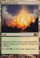 2011 Core Set: Sunpetal Grove
