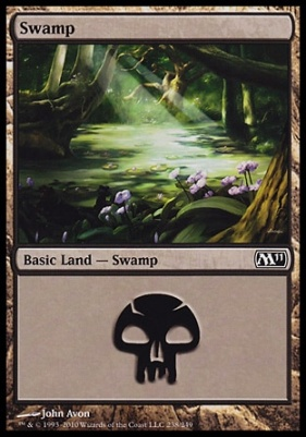 2011 Core Set: Swamp (238 A)